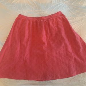 Smart Set Coral Skirt